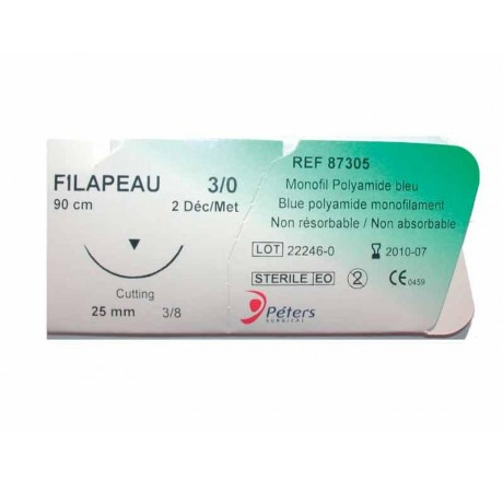 Suture Filapeau Peters surgical