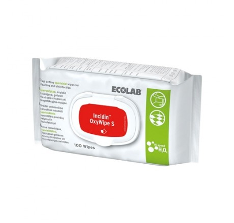 Incidin Oxy Wipes S - Lingettes sporicides Ecolab