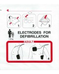 Electrodes adultes Schiller FRED EASY médical