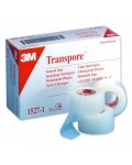 Sparadrap Transpore 3M plastique microperforé médical