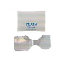Jeu de 100 sacs d'insufflation Ambu Sani Child